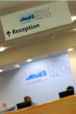 Bingley Medical Practice - welcome to reception